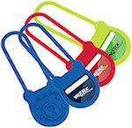 Portly Padlock Silicone Luggage Tags
